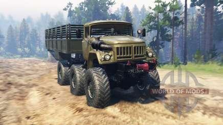 ЗиЛ 131 Монго для Spin Tires