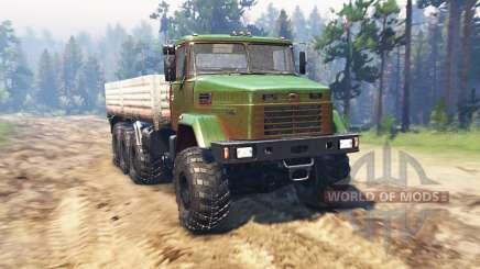 КрАЗ 7140 v1.2 для Spin Tires