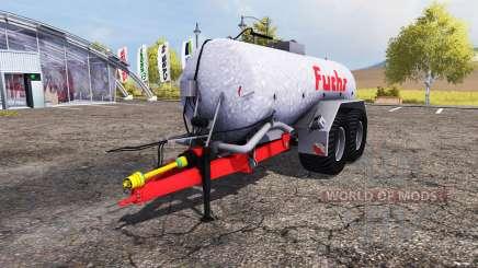 Fuchs liquid manure tank для Farming Simulator 2013