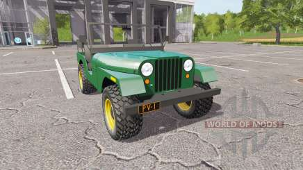 Jeep CJ-5 1972 для Farming Simulator 2017
