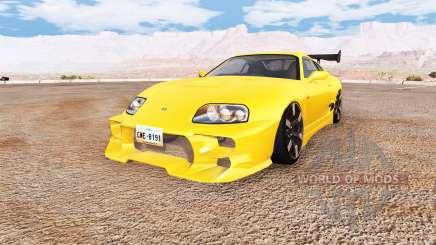 Toyota Supra v1.1 для BeamNG Drive