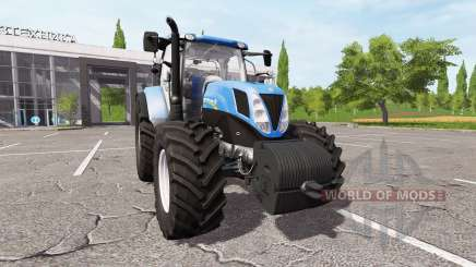 New Holland T7.200 v1.1 для Farming Simulator 2017