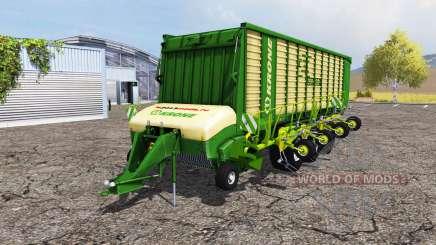 Krone ZX 550 GD rake для Farming Simulator 2013