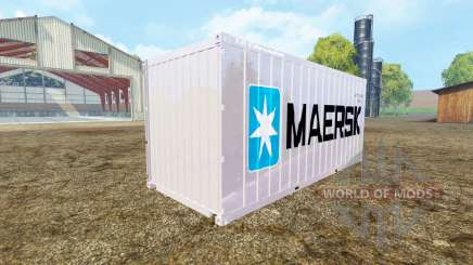 Container 20ft Maersk для Farming Simulator 2015