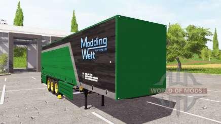 Schmitz Cargobull Modding Welt v1.1 для Farming Simulator 2017