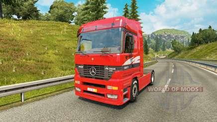 Mercedes-Benz Actros MP1 v2.1 для Euro Truck Simulator 2