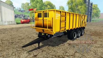 Ponthieux P24A yellow для Farming Simulator 2015