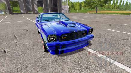 Ford Mustang II King Cobra 1978 для Farming Simulator 2017
