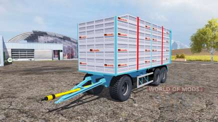 Durante tipper trailer для Farming Simulator 2013
