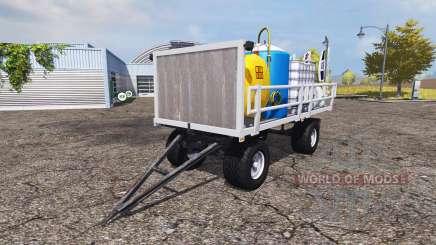 Service trailer v2.0 для Farming Simulator 2013