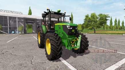 John Deere 6135M v1.5.5 для Farming Simulator 2017