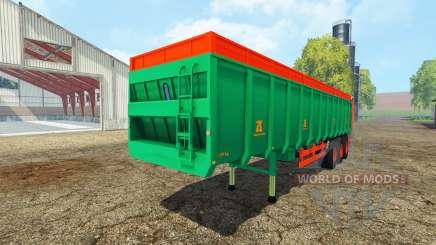 Aguas-Tenias manure spreader для Farming Simulator 2015
