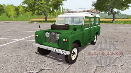 Land Rover Series IIa Station Wagon 1965 для Farming Simulator 2017