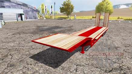 Goldhofer trailer для Farming Simulator 2013