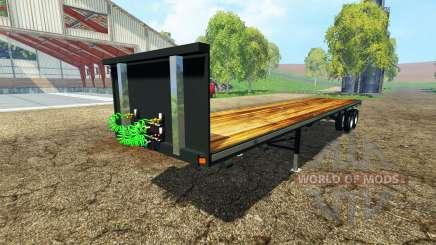 Semitrailer platform для Farming Simulator 2015