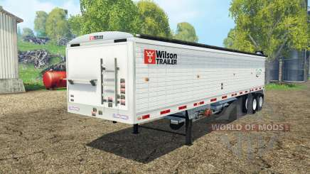 Wilson tender trailer для Farming Simulator 2015