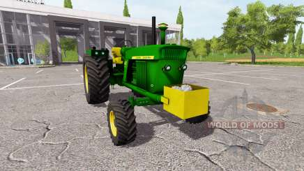 John Deere 4020 для Farming Simulator 2017