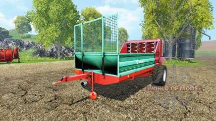 Farmtech Minifex 500 для Farming Simulator 2015