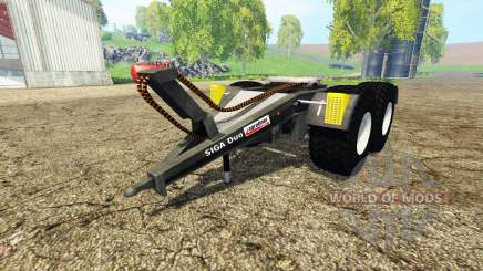 Kroger SIGA Duo для Farming Simulator 2015