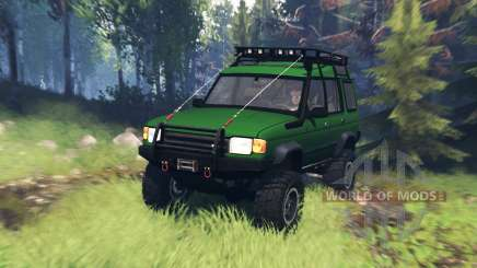 Land Rover Discovery v5.0 для Spin Tires