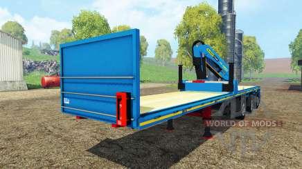 Royen semitrailer для Farming Simulator 2015
