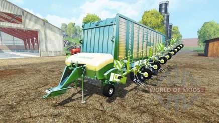Krone ZX 550 GD rake для Farming Simulator 2015