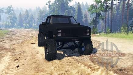 GMC Sierra 2500 для Spin Tires