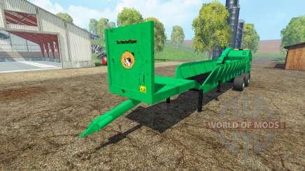 Щепорубительный полуприцеп v2.0 для Farming Simulator 2015