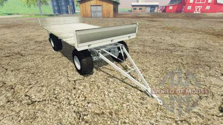 Fortschritt HW 80 bale trailer v1.1 для Farming Simulator 2015