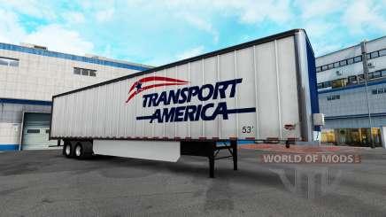 Логотипы компаний на полуприцепы для American Truck Simulator