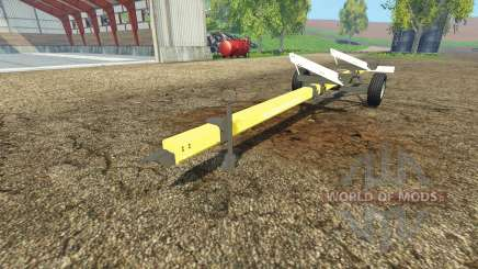 Bruns header trailer для Farming Simulator 2015