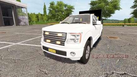 Lizard Pickup TT traffic advisor v1.1 для Farming Simulator 2017