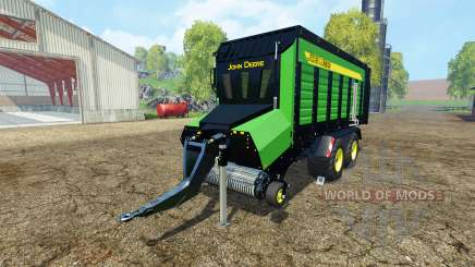 Forage trailer John Deere для Farming Simulator 2015