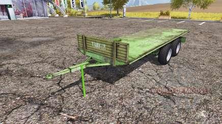Tractor trailer platform для Farming Simulator 2013
