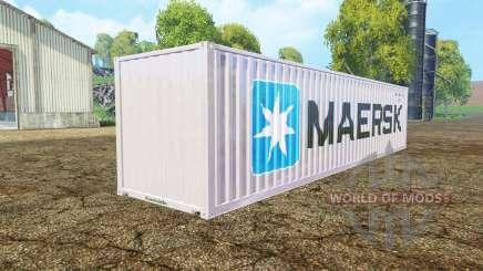 Container 40ft Maersk для Farming Simulator 2015
