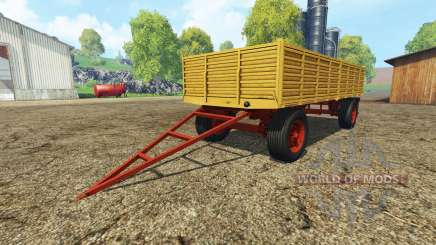 Tipper tractor trailer для Farming Simulator 2015