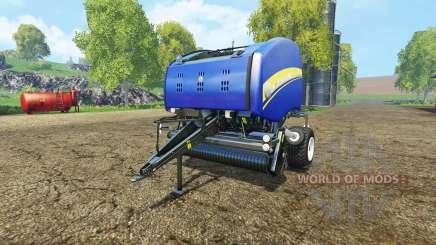 New Holland Roll-Belt 150 blue для Farming Simulator 2015