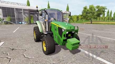John Deere 5130M v2.5 для Farming Simulator 2017