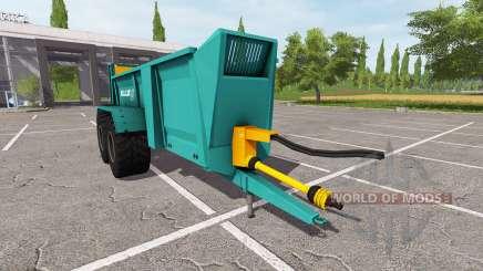 Rolland Roll Twin 205 для Farming Simulator 2017