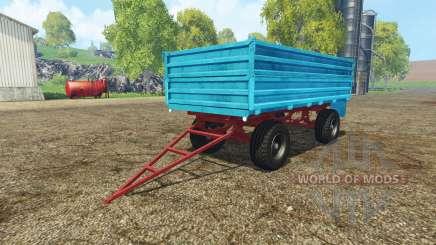 Tractor trailer v2.0 для Farming Simulator 2015