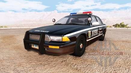 Gavril Grand Marshall NYPD v2.0 для BeamNG Drive