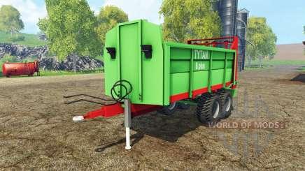 Unia Tytan 8 plus для Farming Simulator 2015