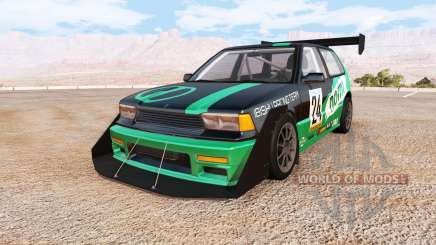 Ibishu Covet racing custom v0.6.6 для BeamNG Drive
