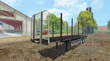 Fliegl universal semitrailer autoload v1.4.1 для Farming Simulator 2015