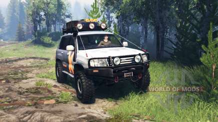 Toyota Land Cruiser 105 v4.0 для Spin Tires
