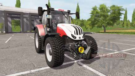 Steyr Profi 4145 CVT для Farming Simulator 2017