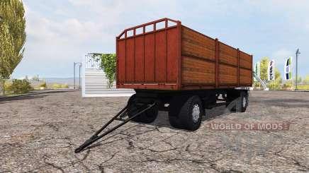 Бортовой прицеп МАЗ для Farming Simulator 2013