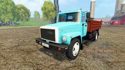 ГАЗ САЗ 35071 v2.1 для Farming Simulator 2015