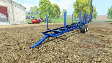 Log Trailer autoload для Farming Simulator 2015