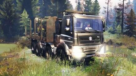 Tatra Phoenix T 158 8x8 v10.0 для Spin Tires